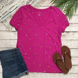 3/$30 A New Day Pink Pineapple Tee